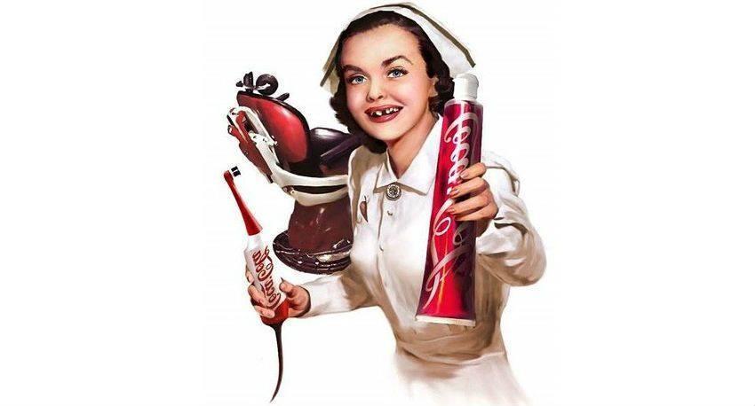 Czy cola i soki rozpuszczają zęby?